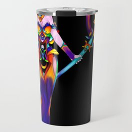 Neon Summers Travel Mug