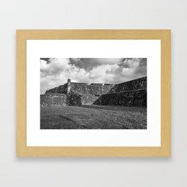 These Castle Walls Framed Art Print
