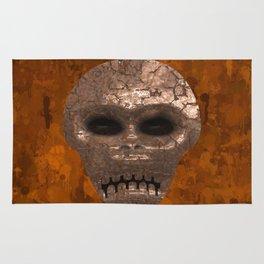 Alien Face Rug