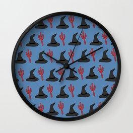 ODDS (pattern) Wall Clock