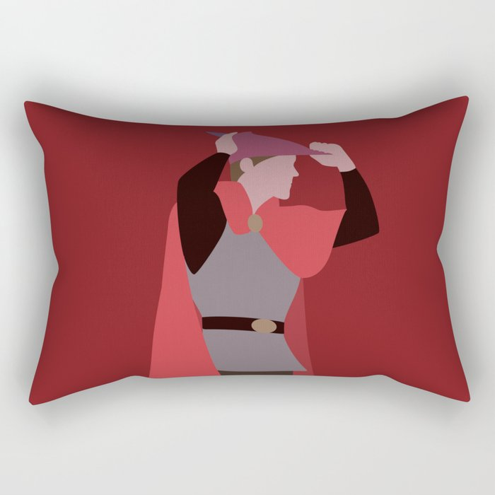 Prince Philip Rectangular Pillow
