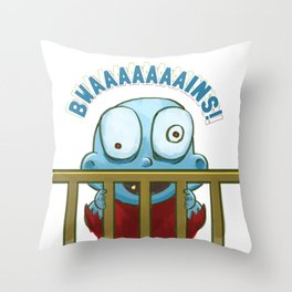 Nobody puts Baby Zombie in a corner! Throw Pillow