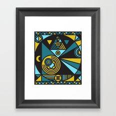 Witchcraft Alchemist Framed Art Print