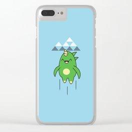 Kawaii Dragon Clear iPhone Case