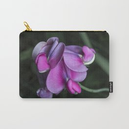 Sweet pea flowers Carry-All Pouch