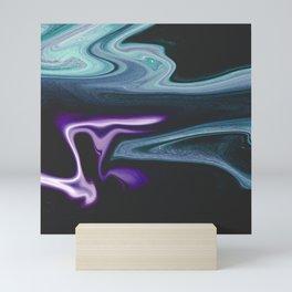 Jasmine - Marble Pattern Mini Art Print