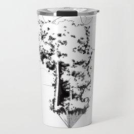 """Uproot & Float"" Travel Mug"