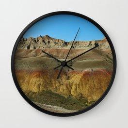 Bleak Landscape Wall Clock
