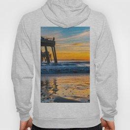 Wet Sand Island Sunset Hoody