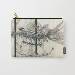 rose-Fish-bone dinosaur Carry-All Pouch