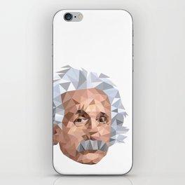 Mentor me Einstein iPhone Skin
