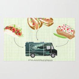 Foodtrucks | By Priscilla Li Rug