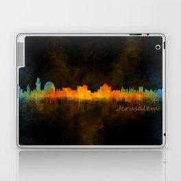 Jerusalem City Skyline Hq v4 Laptop & iPad Skin