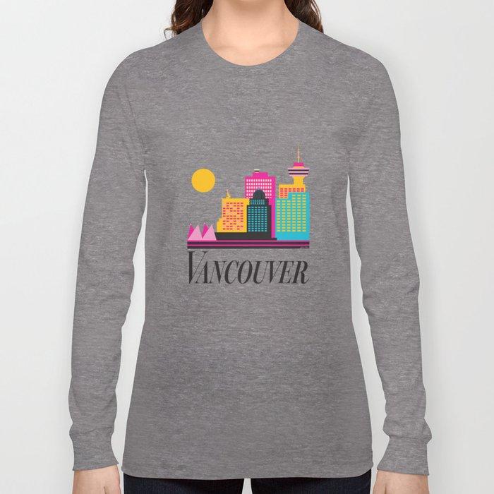 Vancouver Coal Harbour Long Sleeve T-shirt
