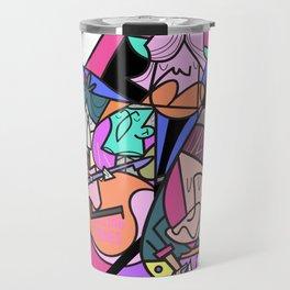 Stone lips Travel Mug