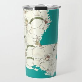 Louisiana in Flowers Travel Mug