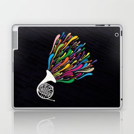 French Horn Laptop & iPad Skin