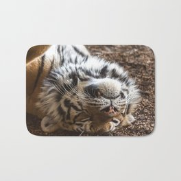 Tiger Portrait Bath Mat