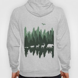 The Walk Through The Forest Hoody