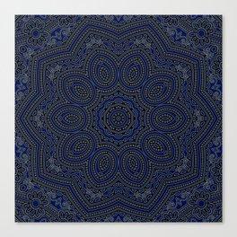 Marrakech Mandala With Stratos Backdrop Canvas Print