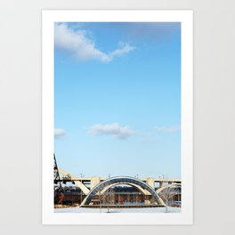 Geometric St Paul Art Print