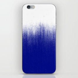 Ink Blue Ombré iPhone Skin