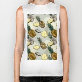 Pineapple pattern Biker Tank