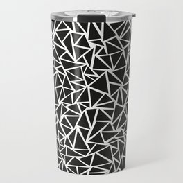 Triangle Maze Travel Mug