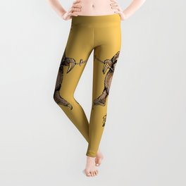 Hang in There Baby Sloth Leggings