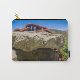 Chain Across Rock Carry-All Pouch