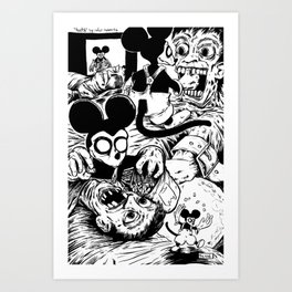 Nightmare the Rat - Teeth Art Print