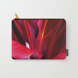 Red Ti Leaf Carry-All Pouch