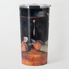 Paul Cézanne - The Card Players Travel Mug