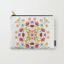 A Symphony Of Floral Delights Carry-All Pouch