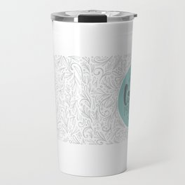 Caffeinate and Procrastinate Travel Mug