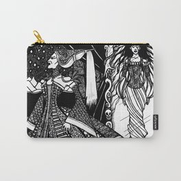 Snow White in the Mirror Carry-All Pouch