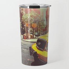 NYC Taxi Cab Travel Mug