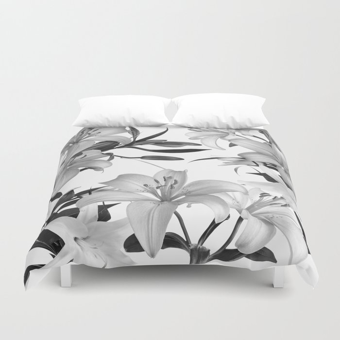 Glorious Lilies 2 Duvet Cover