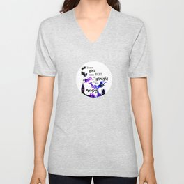 Second Star to the Right and Straight on till Morning Unisex V-Neck