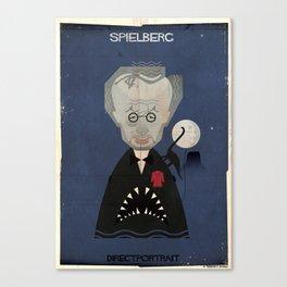 014_directportrait_Steven Spielberg Canvas Print