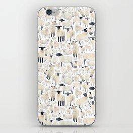 Watercolour Sheep iPhone Skin