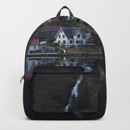 River that vanishes (Fjord) Backpack