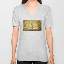 Gustav Klimt The Tree Of Life Unisex V-Neck