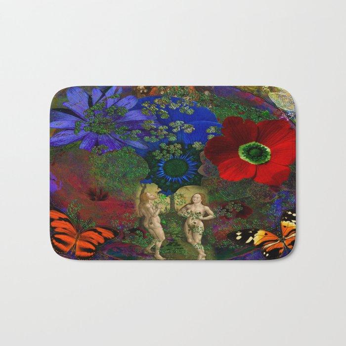 Adam and Eve's Harmonious Earth Bath Mat