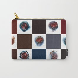 Rose City Monster's Nipple Quilt Carry-All Pouch