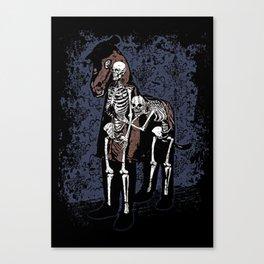 Anatomy of a Fake Horse Canvas Print