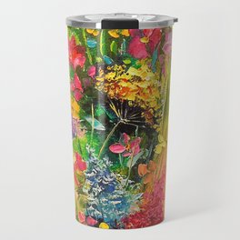 A bouquet of beautiful wildflowers Travel Mug