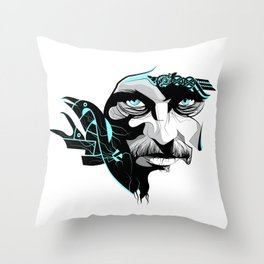 King Ragnar Throw Pillow