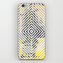 Sunday Morning - psychedelic graphic iPhone Skin