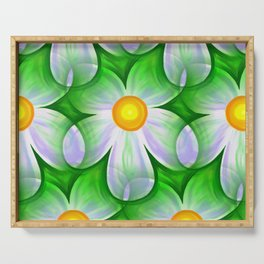 Seamless Repeating Tiling Serving Tray